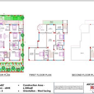 House 59'x82′ (West Facing) – W5