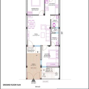 House 20'x55′ (West Facing) W6
